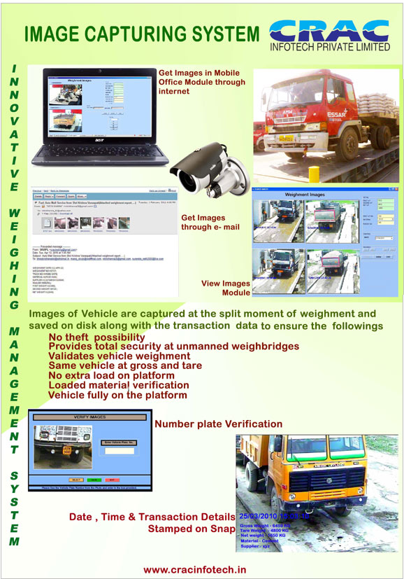 IMAGE CAPTURING SYSTEM :: Weighbridges, Weighbridge